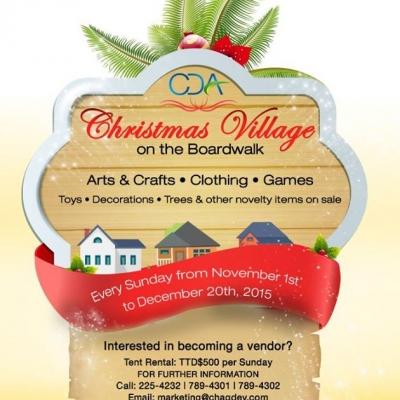 CDA Christmas Village on the Boardwalk 2015