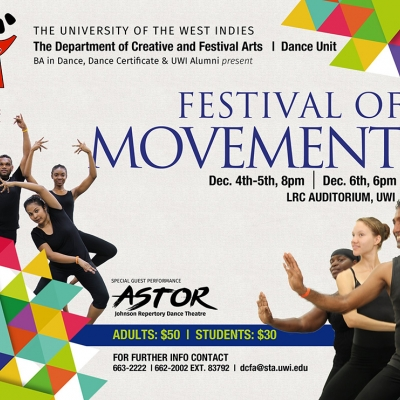 UWI DCFA's Festival of Movement