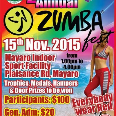 2nd Annual Zumba Fest