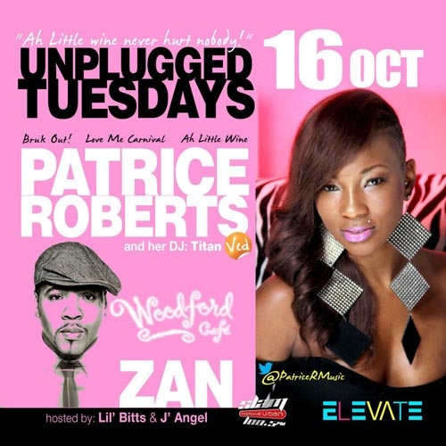 Unplugged Tuesdays! Patrice Roberts & Zan