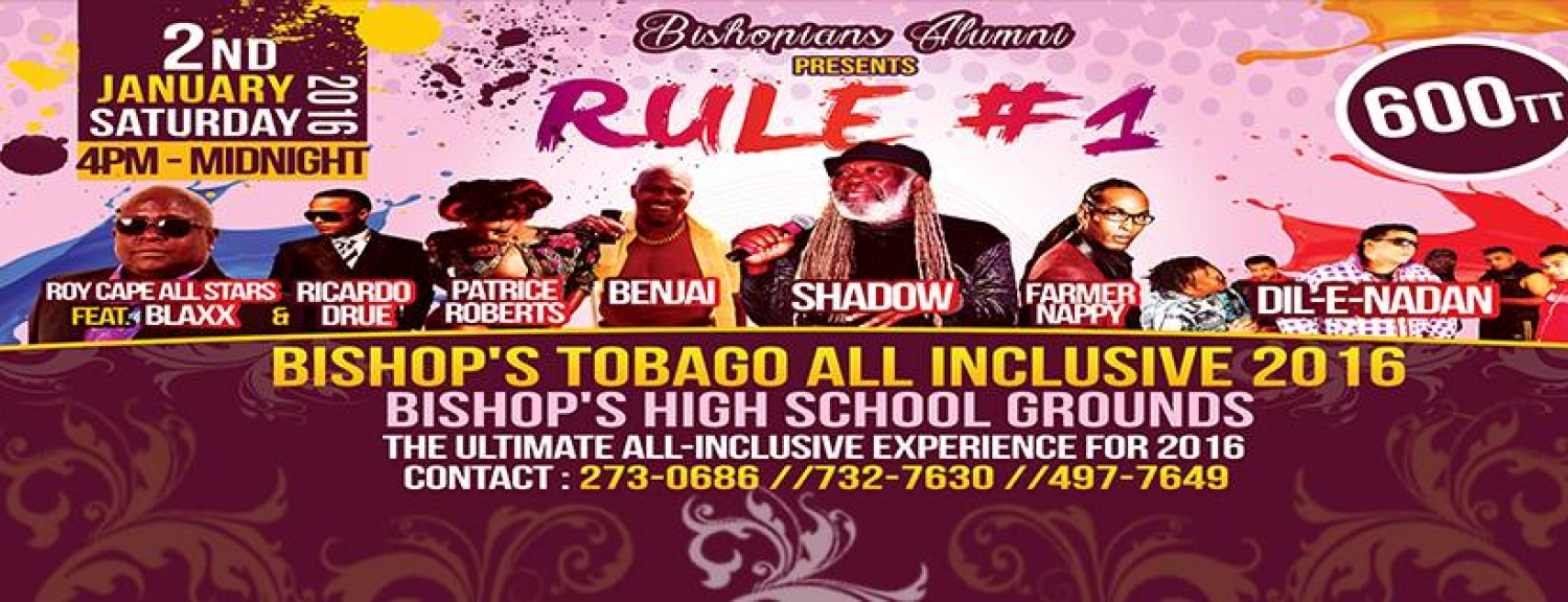 Bishop's Tobago: The 2016 All-Inclusive Experience