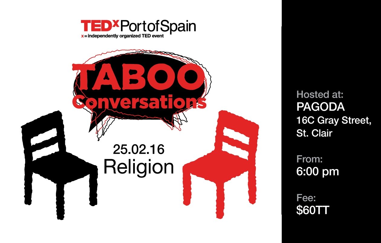 TEDxPortofSpainSalon - Taboo Conversation II: On Religion: Division In Divinity?