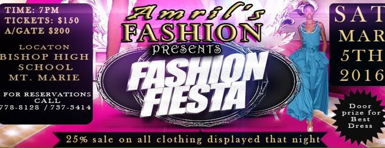 Amril's Fashion Presents Fashion Fiesta 2016