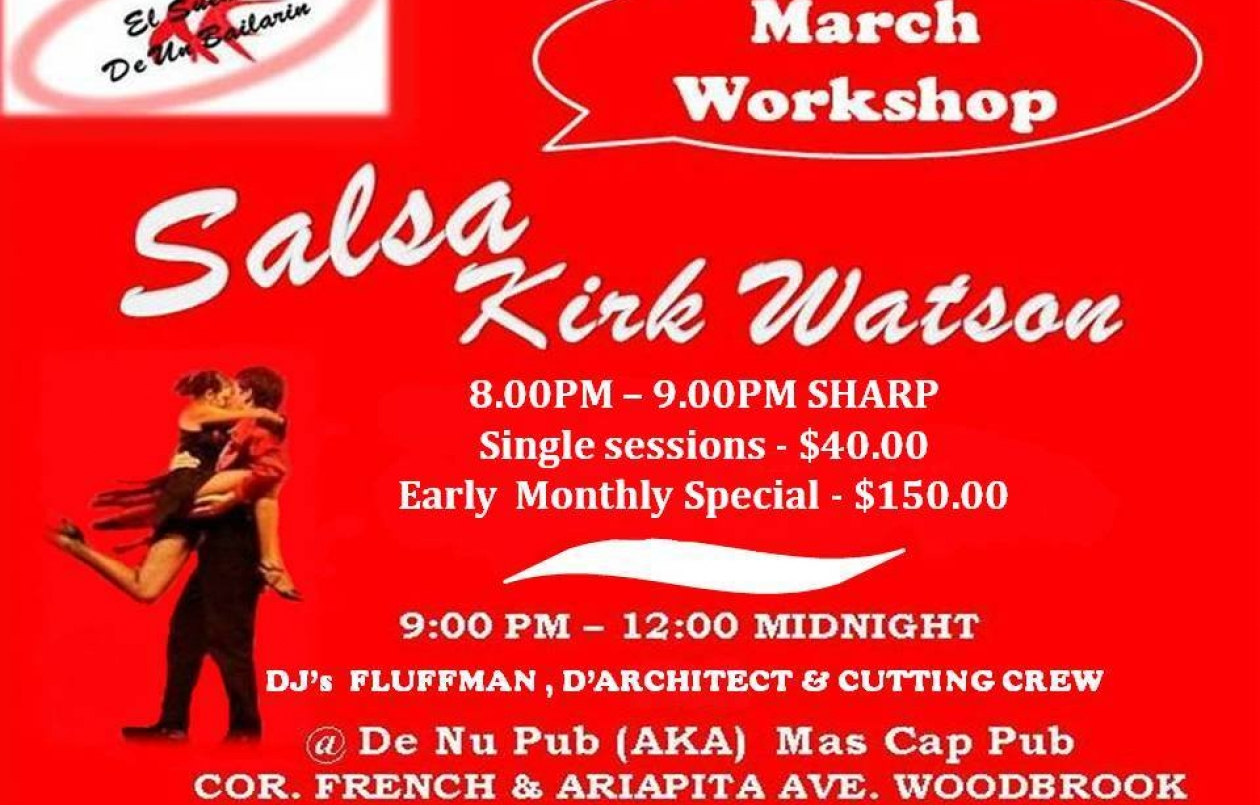El Sueño - March Salsa Workshop