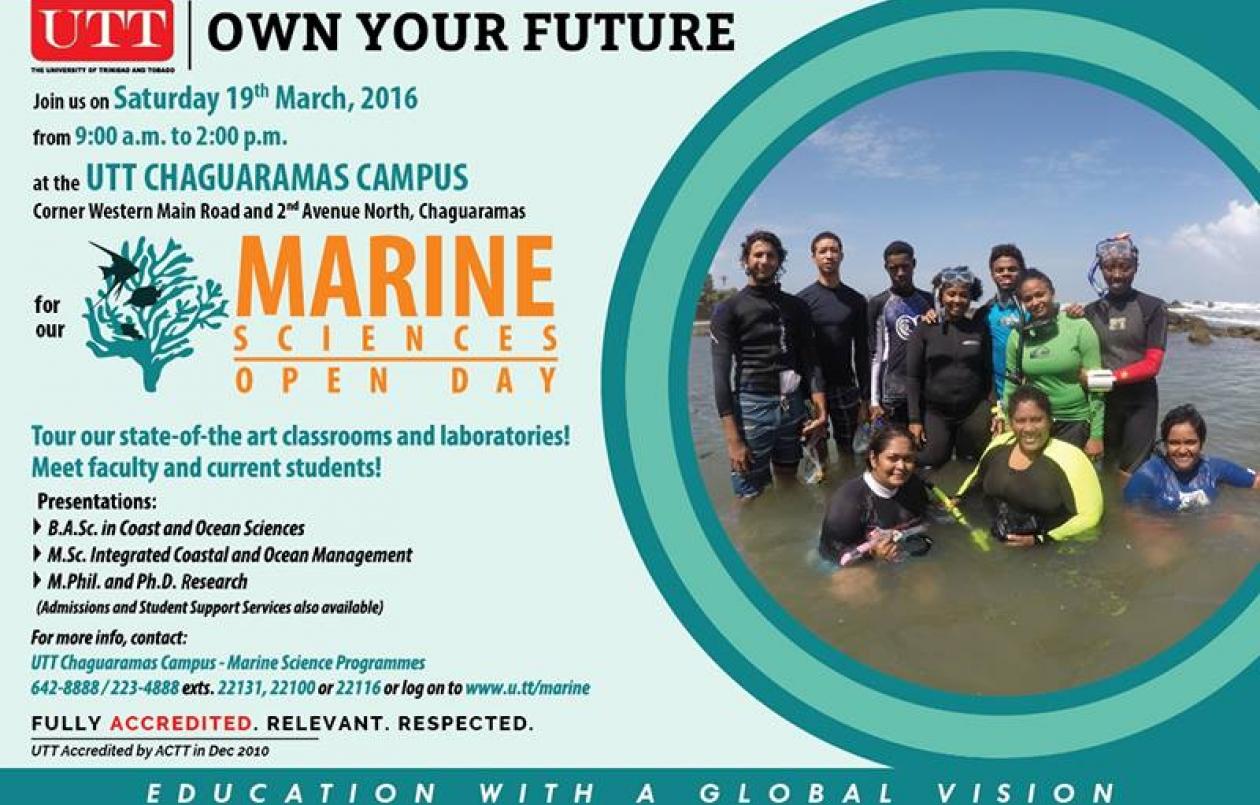 UTT Marine Sciences Open Day