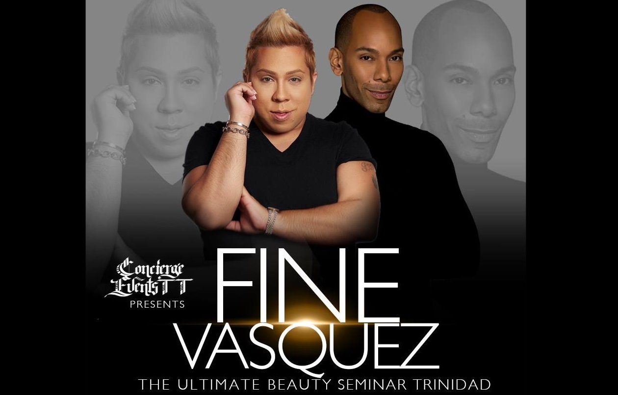 Fine Vasquez Ultimate Beauty Seminar - Trinidad 2016