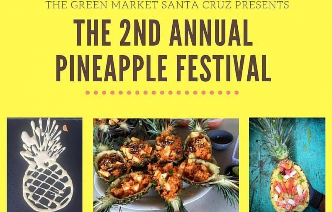 Pineapple Fest at the Green Market
