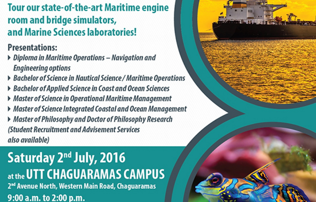UTT Chaguaramas Campus Open Day
