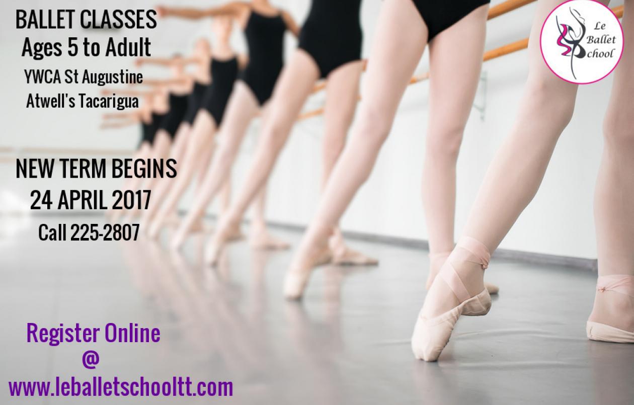 LE BALLET SCHOOL-Ballet classes: 5 to Adult