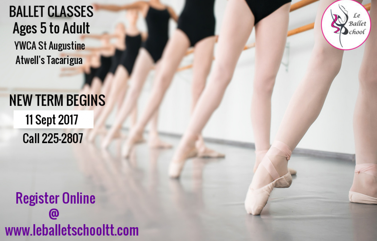 LE BALLET SCHOOL-Ballet classes: 4 1/2 to Adult
