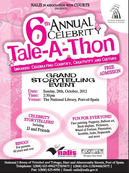 6th Annual Celebrity Tale-A-Thon