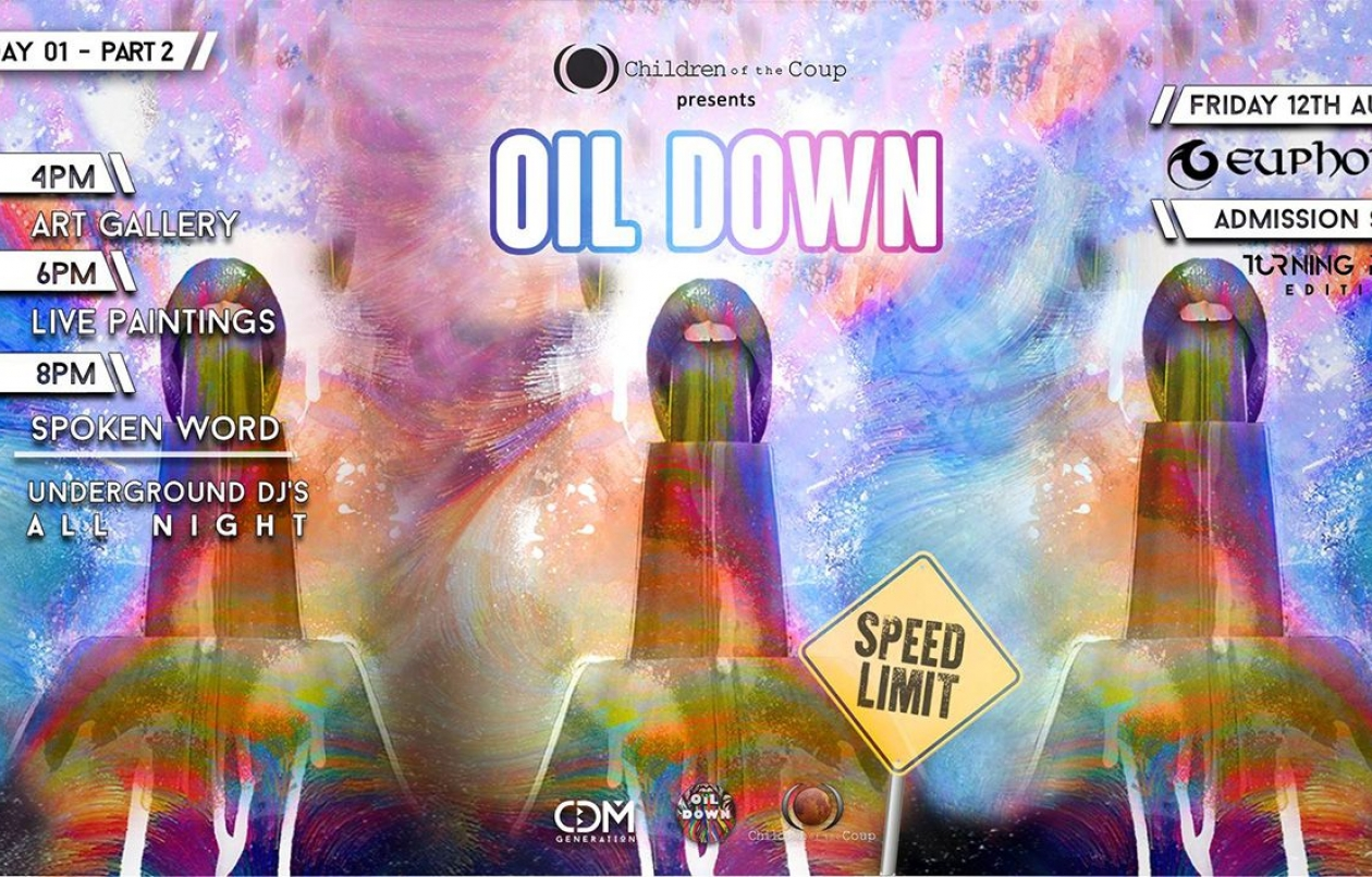Oil Down - Art Gallery & Music Exhibition