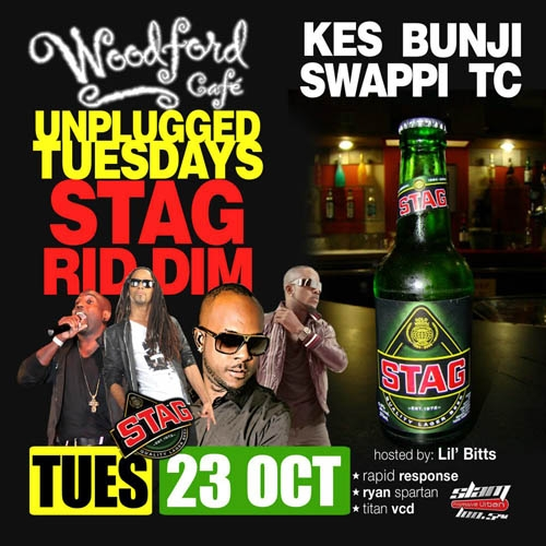 Unplugged Tuesdays! The Stag Riddim - Kees, Bunji, Swappi & TC