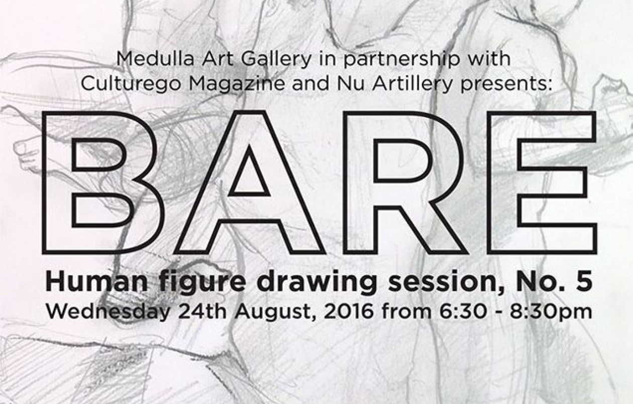 BARE : Human figure drawing session, No.5