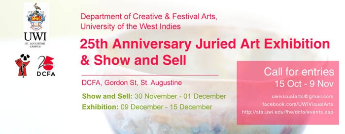 UWI Visual Arts 25th Anniversary Exhibition