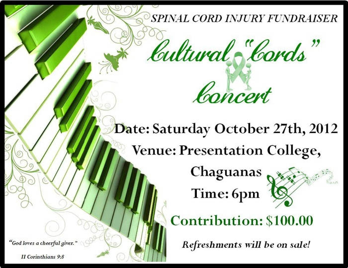 Cultural Cords Concert: Spinal Cord Injury Fundraiser