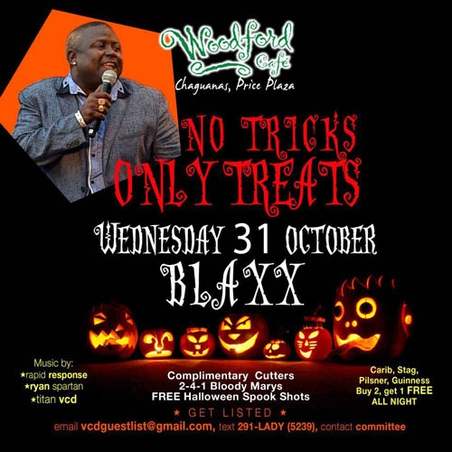 No Tricks, Only Treats ft. Blaxx