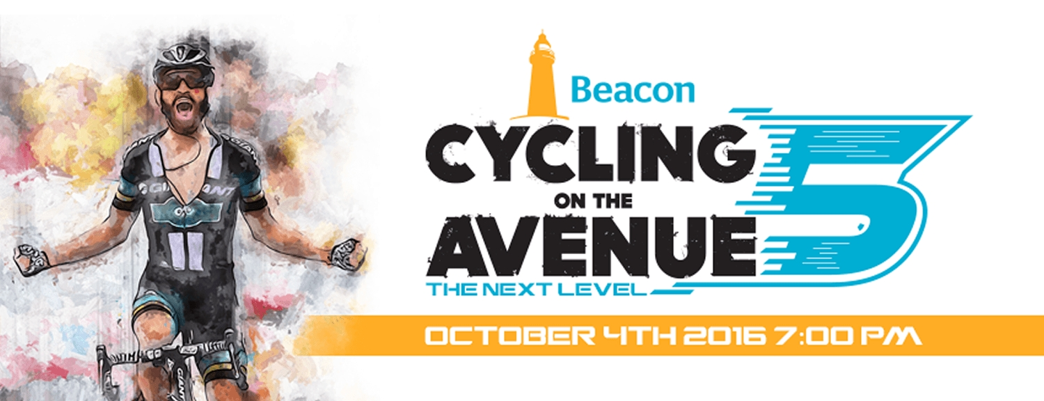 Beacon Cycling on the Avenue 5