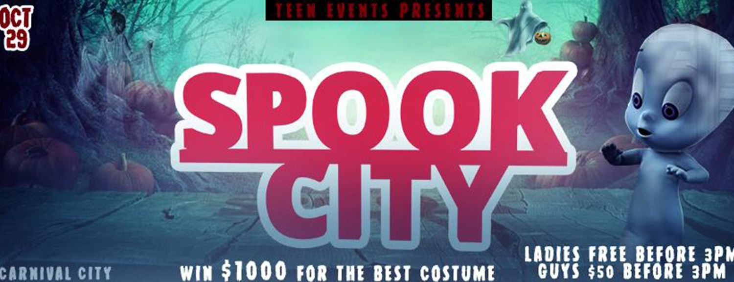 SpOoK CitY (Teen Event) Halloween Party ID 19062