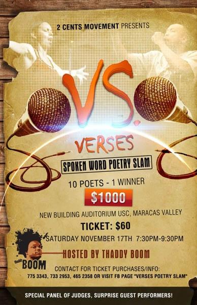 Verses: Spoken Word Poetry Slam ID 1927