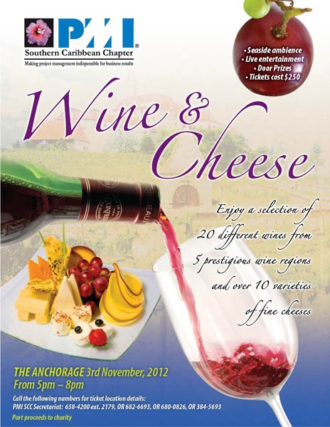 2nd Annual Wine and Cheese