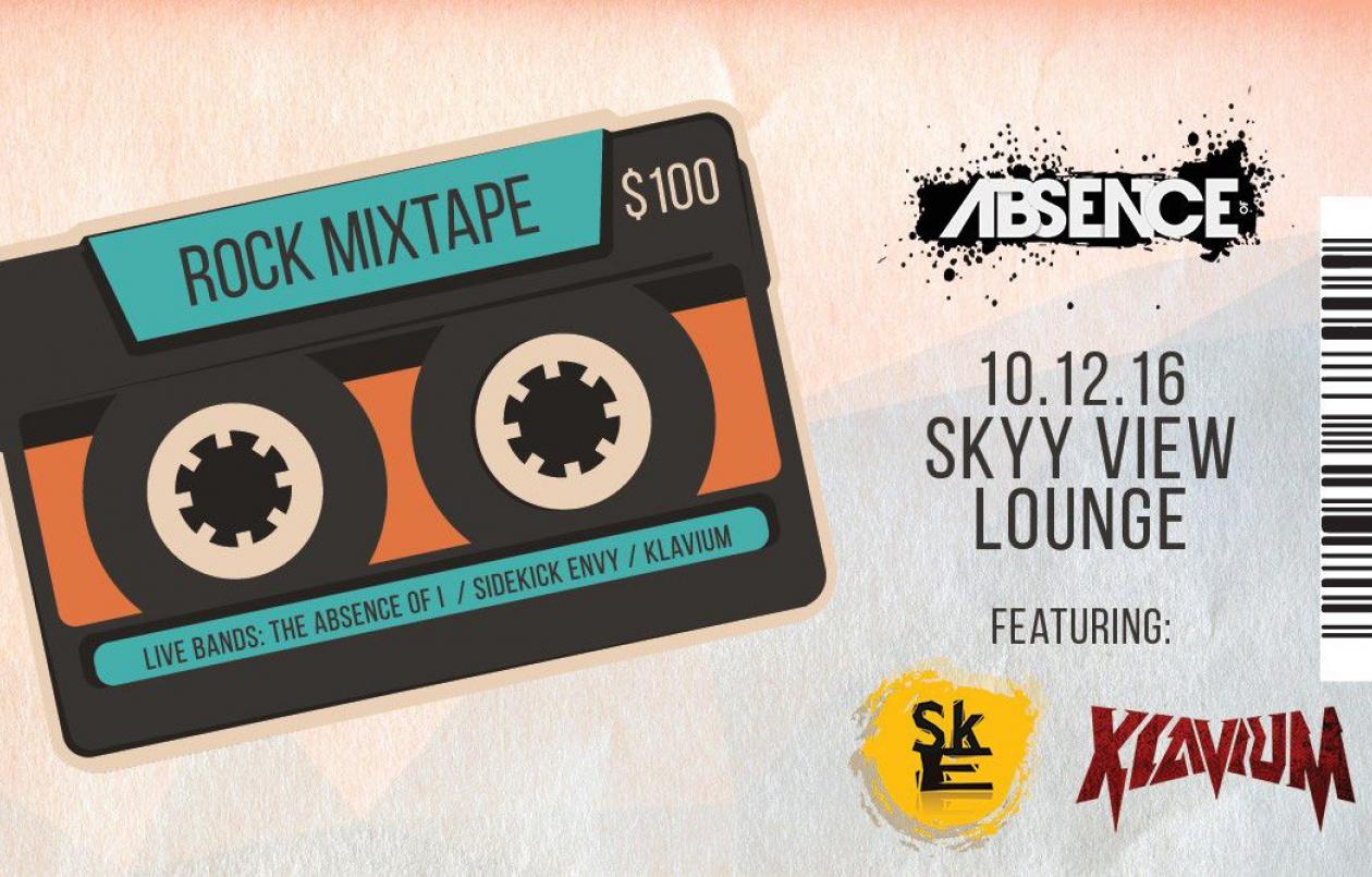 Rock Mixtape: The Absence of I / Sidekick Envy / Klavium