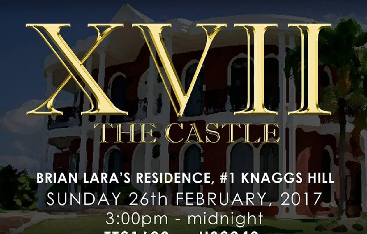 XVII The Castle at Brian Lara's Residence