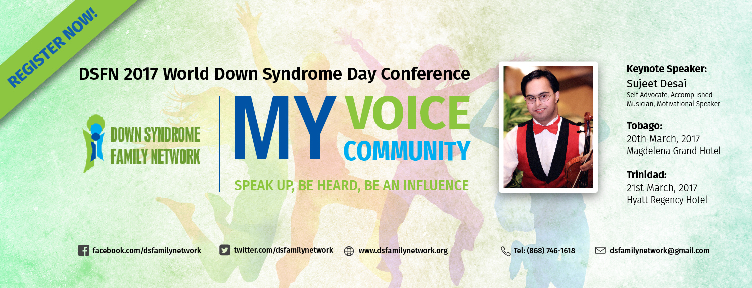 DSFN 2017 World Down Syndrome Day Conference