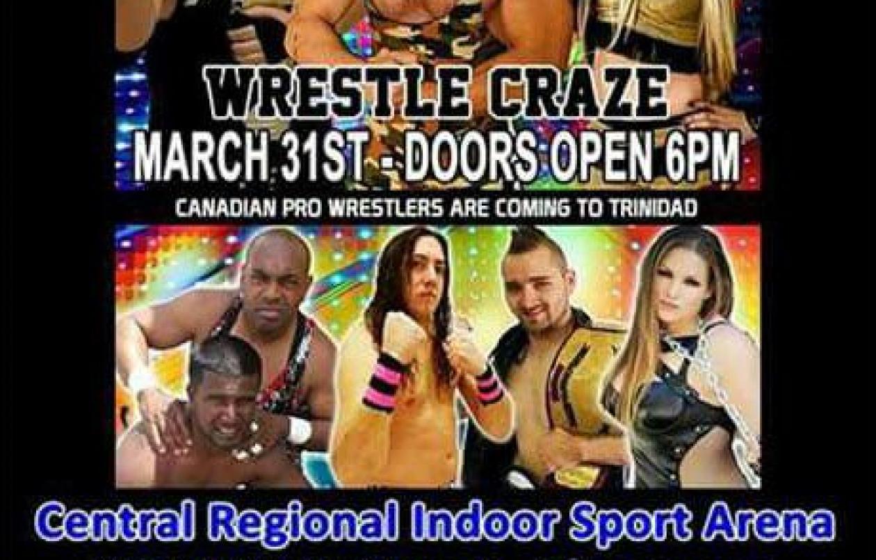 PWA Trinidad & Tobago Wrestling - March 31st 2017 - Chaguanas