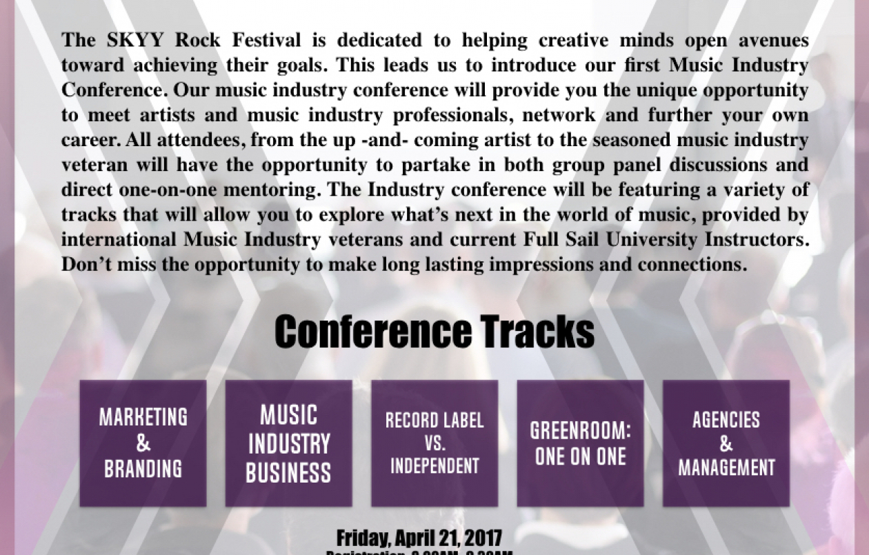 SRF 2017 MUSIC INDUSTRY CONFERENCE