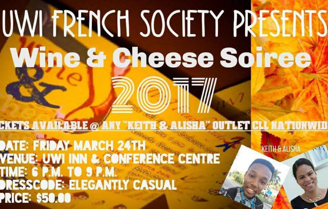 UWI French Society Wine And Cheese Soiree 2017
