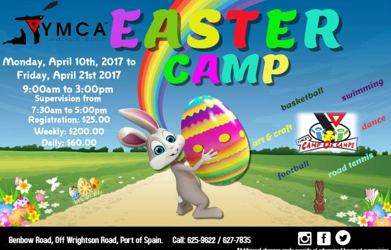 YMCA Easter Camp 2017