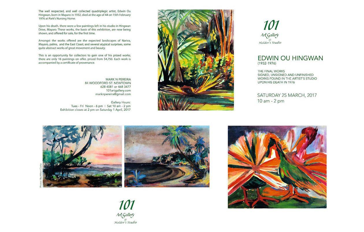 Edwin Ou Hingwan Exhibition