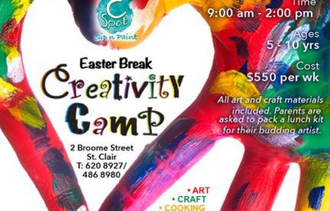 CSpot Easter Break Creativity Camp 2017