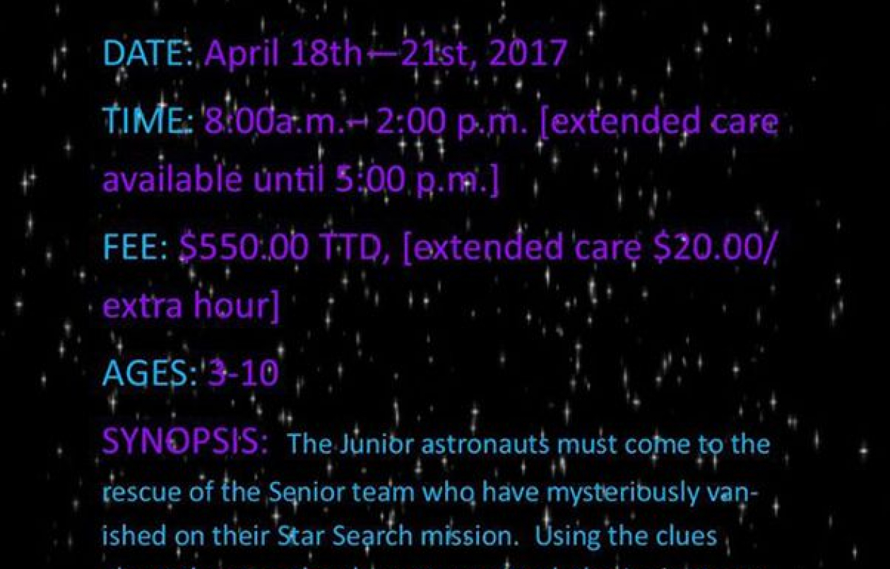 Star Search: Space Camp 2017