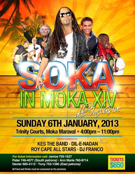 Soka in Moka XIV: All Inclusive