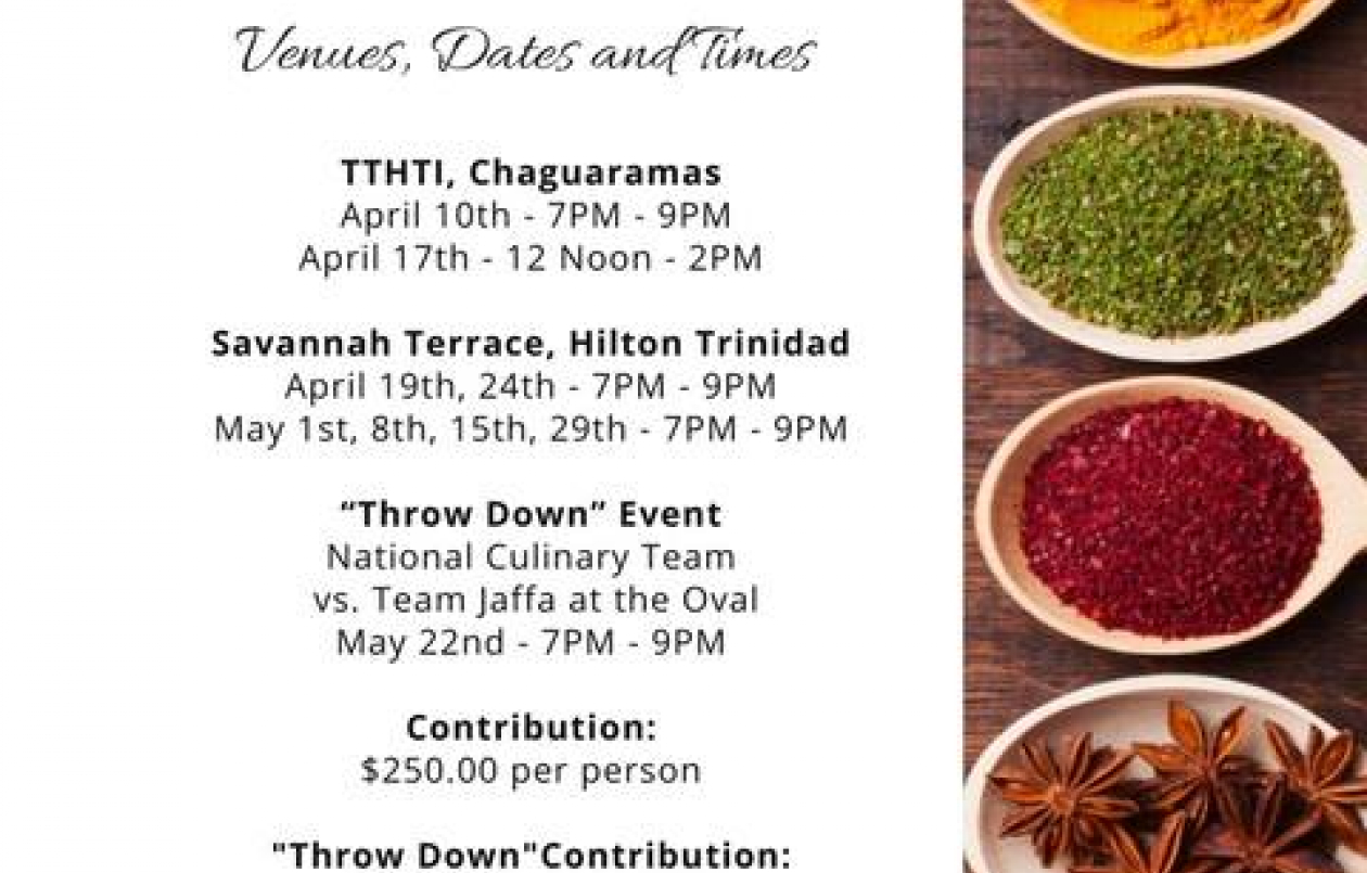 T&T National Culinary Practice Dinner Series 2017: Throw Down Event