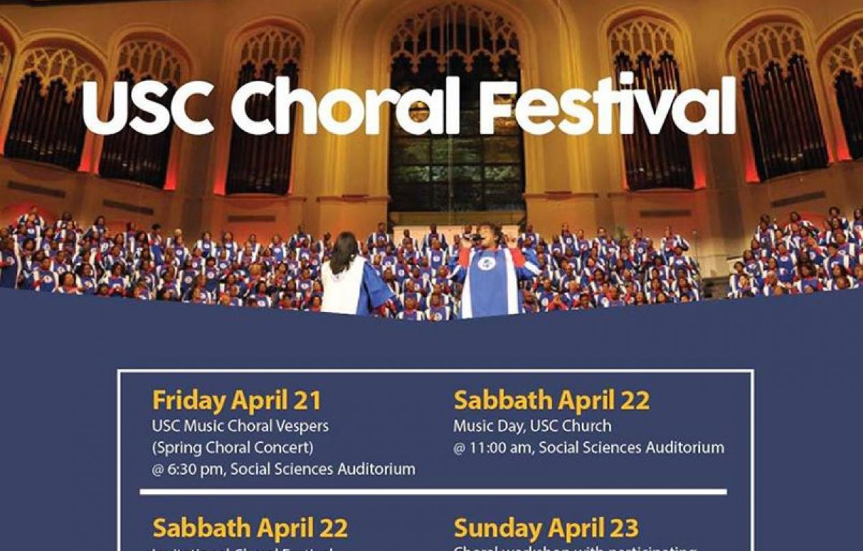 USC Choral Festival 2017
