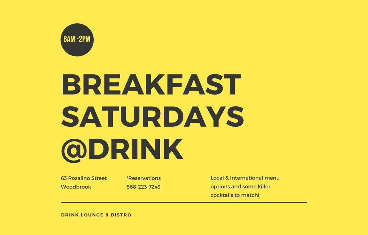 Breakfast Saturdays at Drink: 22.04.17