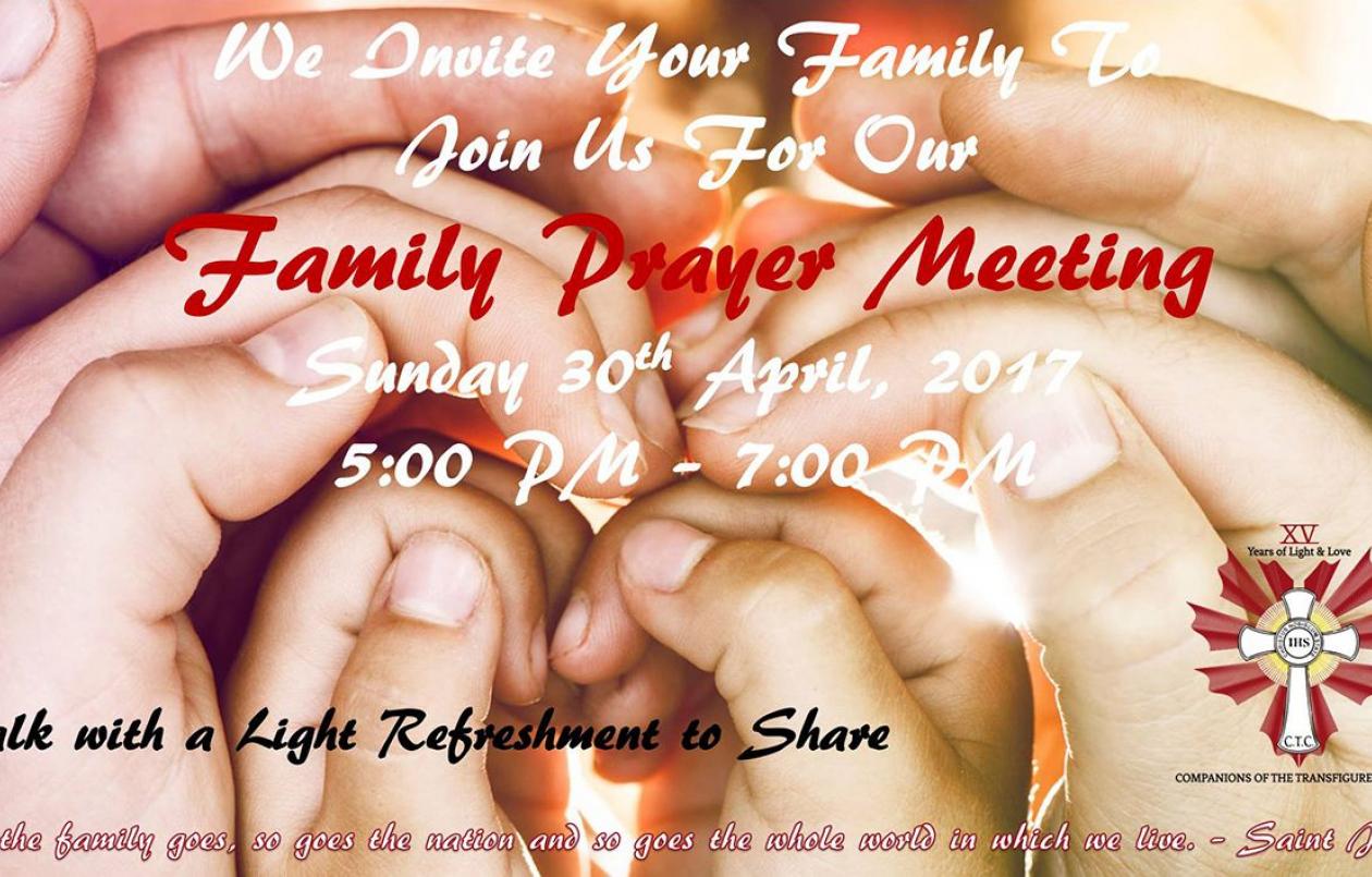CTC Community Family Prayer Meeting