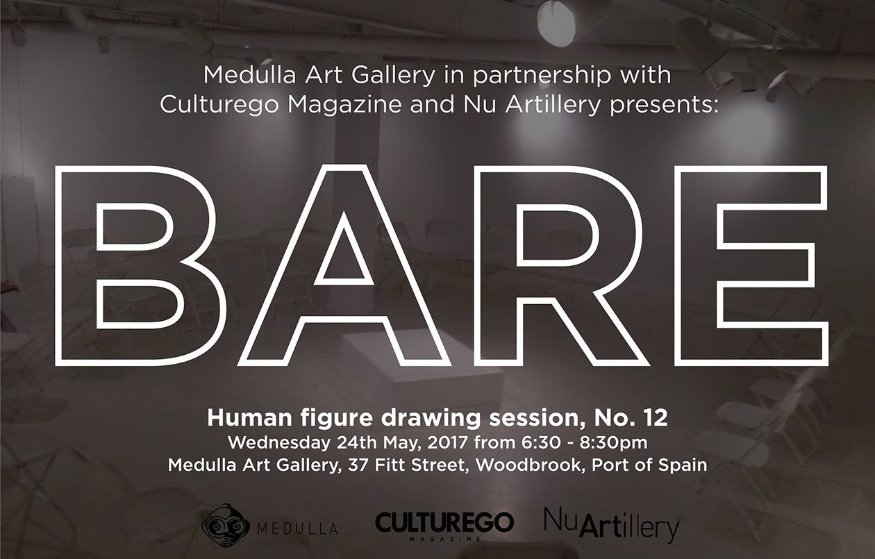 BARE : Human figure drawing session, No. 12