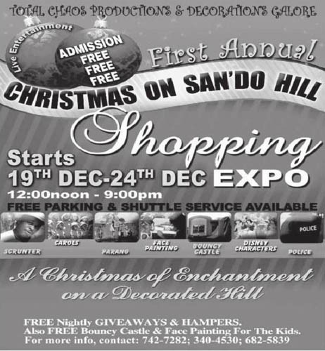 First Annual Christmas on San'do Hill: Shopping Expo