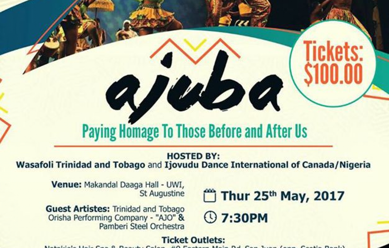 Ajuba  - Paying Homage To Those Before And After Us
