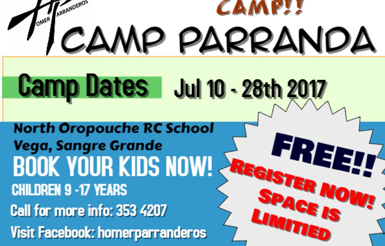 Camp Parranda 2017