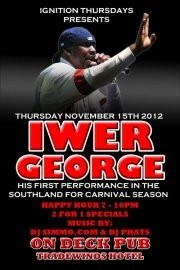 Ignition Thursdays: Iwer George