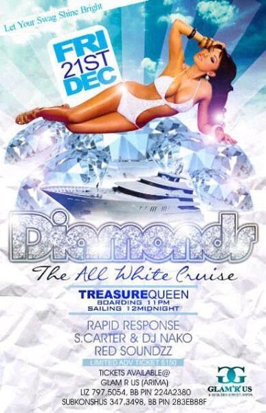 Diamonds: The All White Cruise
