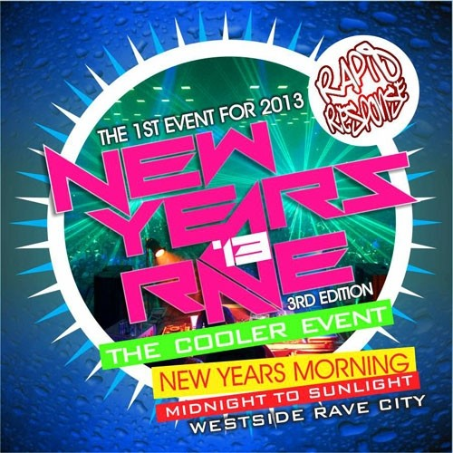 New Years Rave 2013