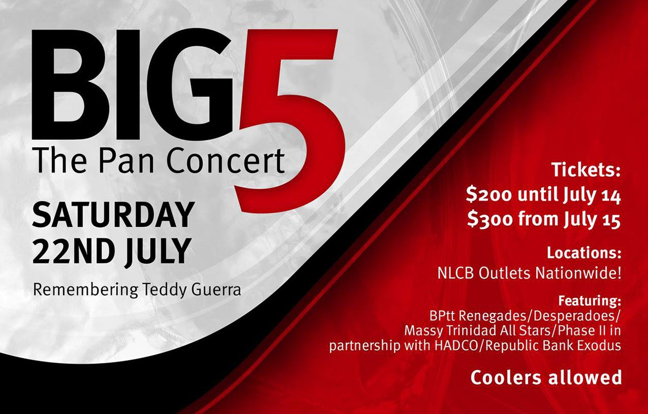 BIG 5: The Pan Concert