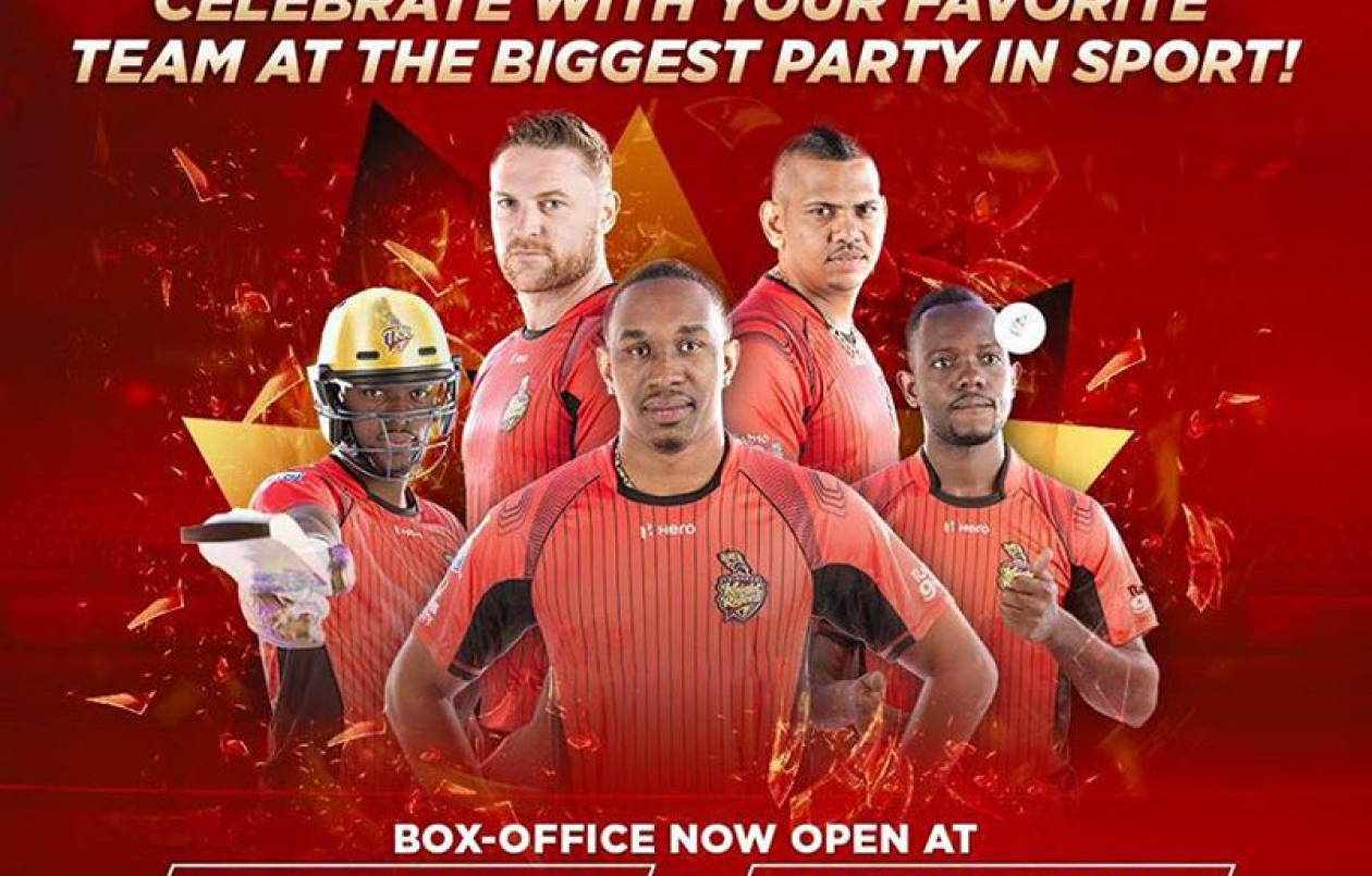 CPL T20 2017: Trinbago Knight Riders VS Barbados Tridents
