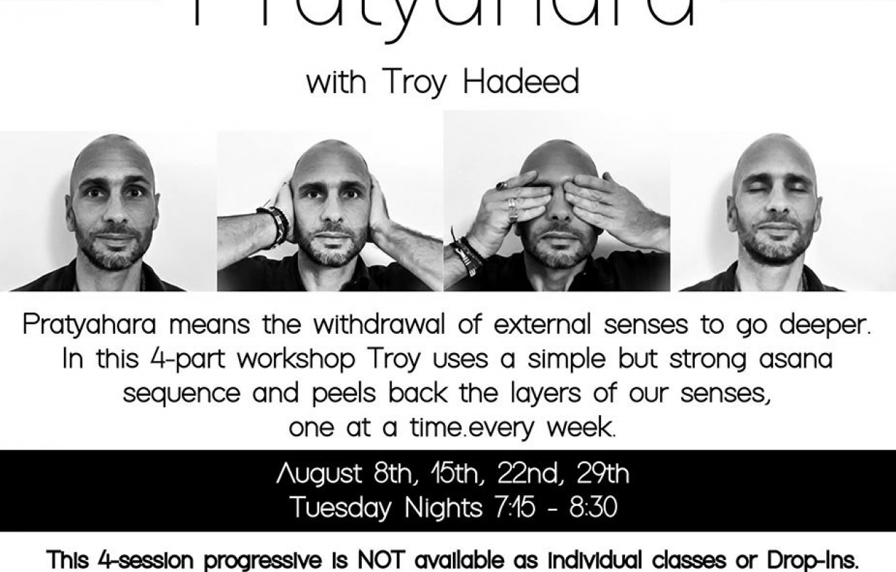 Pratyahara with Troy Hadeed